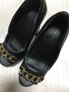使用感有厚底靴 ピンヒール パンプス ギャル フェチ 臭い 難あり