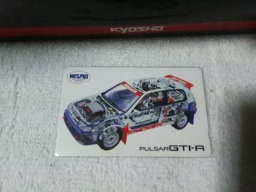 テレカ 50度数 アクロポリスラリー '91 ジェックス N14 パルサー GTI-R#18 W 未使用