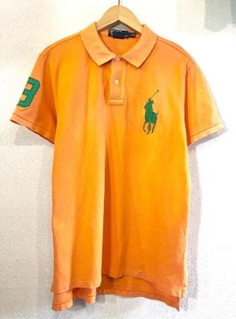 Ralph Lauren■ポロシャツ■ビッグポニー■ラルフローレン■柿色