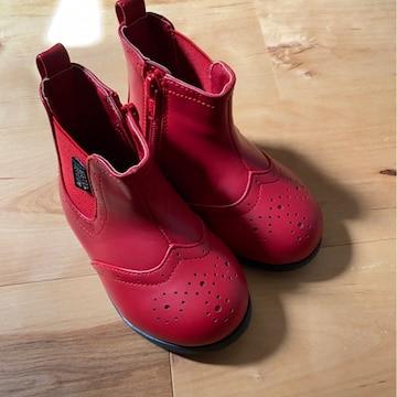 SISTER JENNI BABY新品レア可愛いブーツ13�p赤ベビチビ