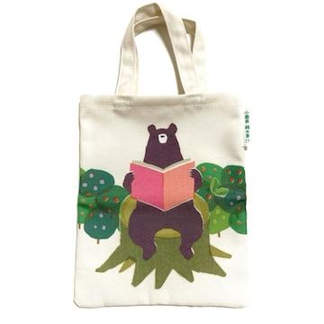 【NEW/非売品】森のクマくん ミニトートバッグ/子供バッグ