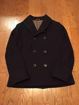 VICTIM ショールカラー ヘチマ襟 ピーコート 日本製 ウール
