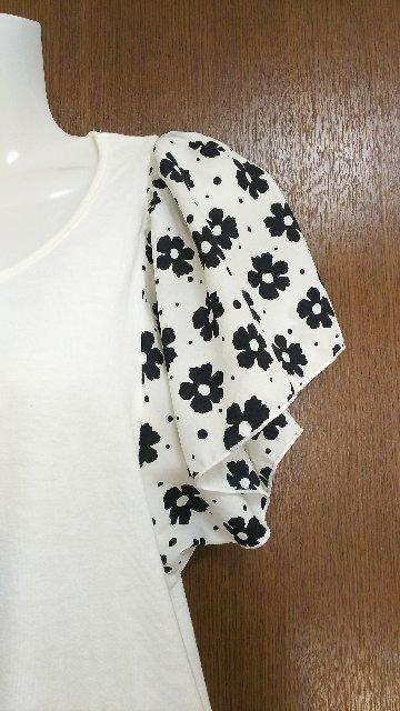 美品、激可愛、abc une face(アーベーセー アンフェイス)Tシャツ < ブランドの