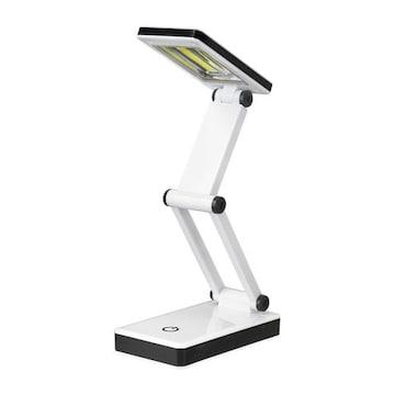 LEDコンパクトデスクライト 折りたたんで持ち運べるライト