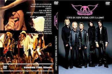 ≪送料無料≫AEROSMITH LIVE NEW YORK CITY 2007 エアロスミス