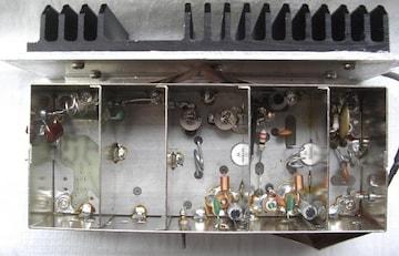 TRIO/送信部ユニット、希少Tr/,コイル等の部品取未使用
