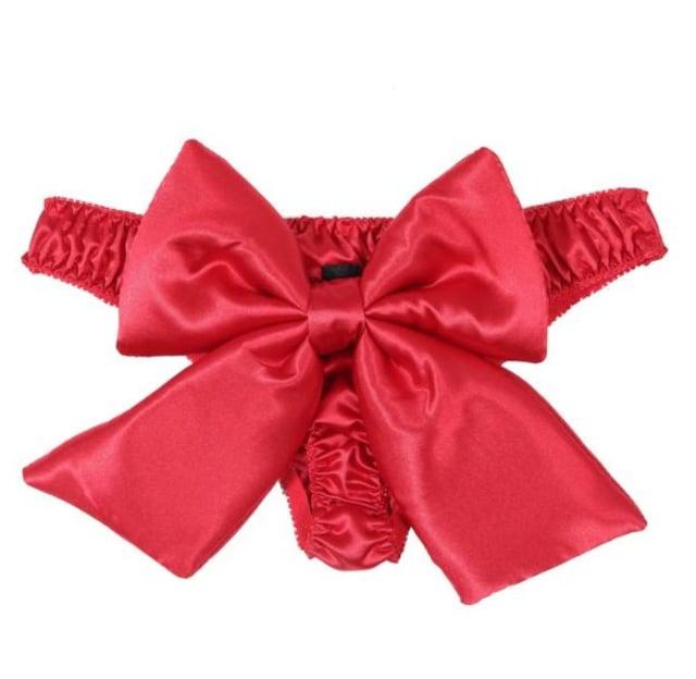 セクシーなTパンツ 赤い誘惑のセクシーランジェリー < 女性ファッションの