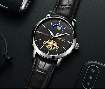 11箱付き☆全針稼動の本格 高級時計 自動巻き メンズ