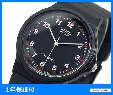 新品 即買い■チープカシオ腕時計 MQ-24-1BL ブラック//00042593