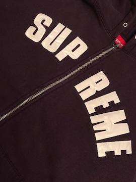 supreme アーチロゴ L size パーカー