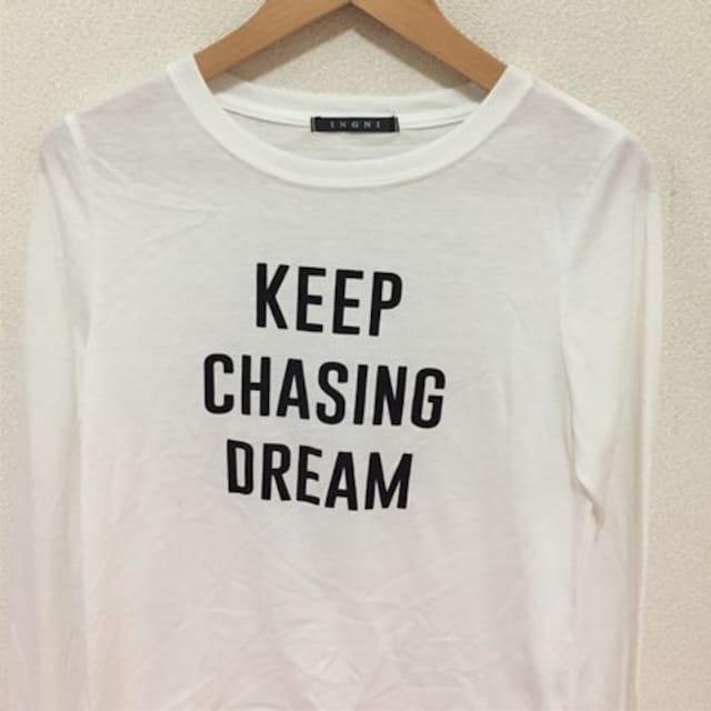 #INGNIロゴTシャツ < ブランドの