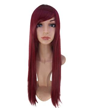 Wigs2you C-005 C-WINE RED☆コスプレウィッグ