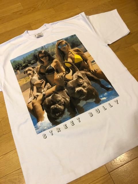 LA直輸入   半袖Tシャツ  doggy&lady    size2XL   白  < 男性ファッションの
