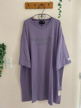 未使用 キューブシュガー★UVカット接触冷感チュニックTシャツ