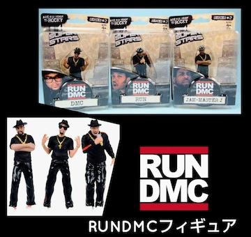 RUN DMC★フィギュア★4体セット★激レア★ICE T★オマケ付★