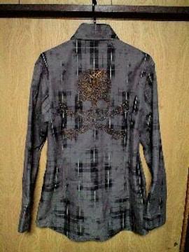 新品ROENロエン ストーンスカルチェックシャツ 46