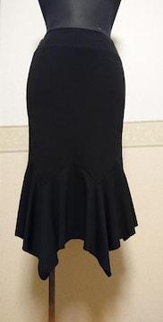 J&R ストレッチマーメイドスカート 黒