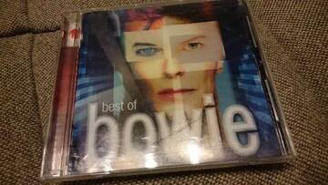 デビッド・ボウイ「best of bowie」ベスト/DAVID BOWIE