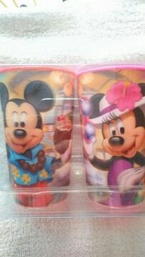 ハワイアウラニディズニー ミッキーミニーダッフィードナルト コップ カップ4個セット未使用