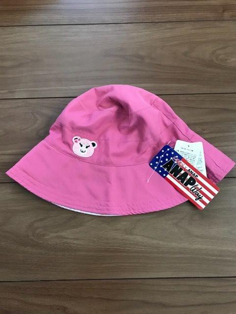 新品タグ付き☆ANAPコラボしまむらリバーシブル帽子  < ブランドの