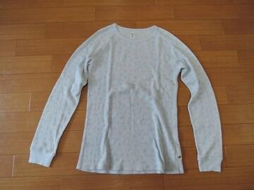 URSUS BAPEワッフル調ロンTシャツ02カットソー水色エイプ