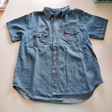 デニムカッターシャツ120