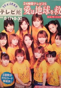 モーニング娘。・西村知美【YOMIURIテレビ館】2002年264号