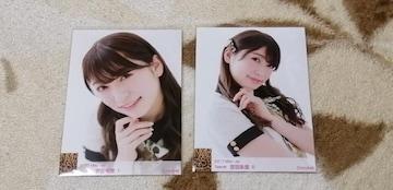 元NMB48吉田朱里☆2017May5枚+October5枚計10枚セット!