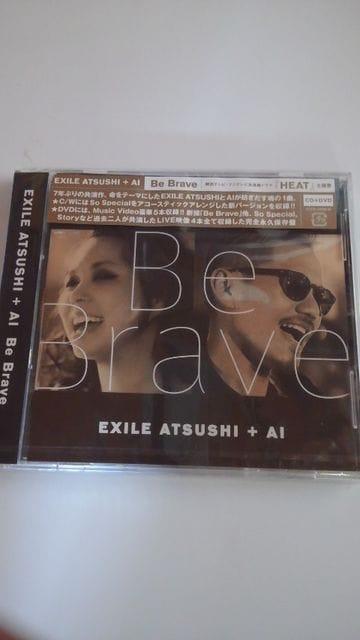 新品未開封CD+DVDEXILE ATSUSHI+AI Be Brave 送料無料  < タレントグッズの