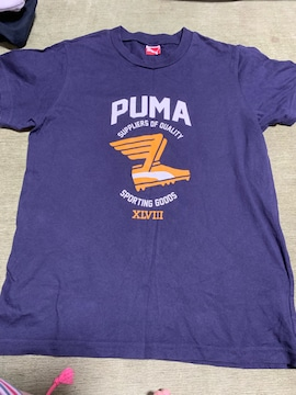 美品 PUMATシャツ 160