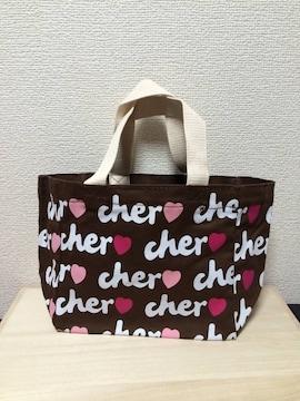 【Cher】シェル トートバッグ S(新品)