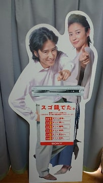 新商品紹介パネル・水野美紀・田村正和