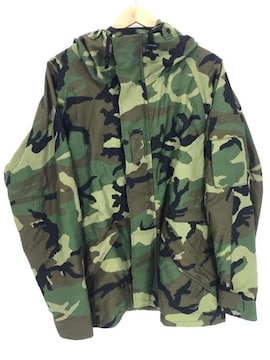 US.ARMY(ユーエスアーミー)PARKA COLD WEATHER GORE-TEX ナイロンカモフラ柄ジャケッ