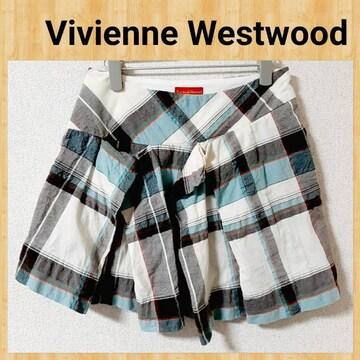 Vivienne Westwood ヴィヴィアンウエストウッド ミニスカート プリーツ