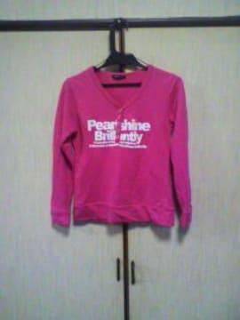 激安 長袖 ピンク
