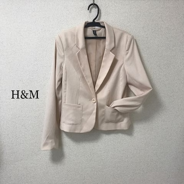 H&M テーラードジャケット