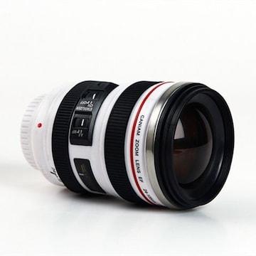 レンズ型マグカップ  ホワイト