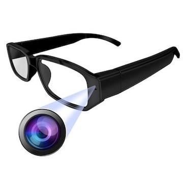 隠しカメラ メガネ型カメラ ループ録画 撮影