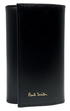 未使用正規ポールスミスキーケースレザー6連AUXC 1981 W761A