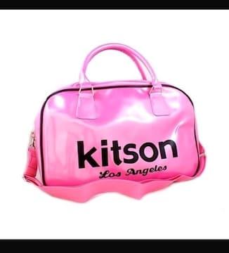 Kitson★キットソン『ショルダー付ボストンバッグ 』新品タグ付