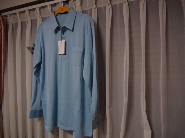 BOB GALETのポロシャツ(3L)薄いブルー新品タグ付き!。 < 男性ファッションの
