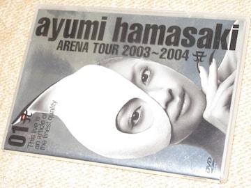 浜崎あゆみ*ARENA TOUR 2003-2004A*アリーナツアーライブDVD
