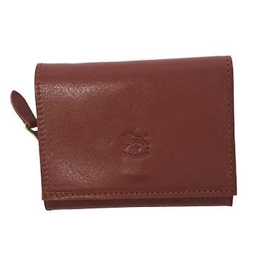 ◆新品本物◆イルビゾンテ 3つ折財布(RED)『C0593/M』◆