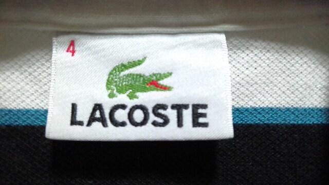 ラコステ ポロシャツ LACOSTE サイズ4 < ブランドの