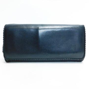 LOEWEロエベ 二つ折り長財布 レザー 黒 タッセル 良品 正規品