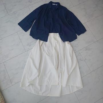 シャツ スカートセット UNIQLO GU