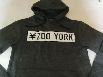 USA購入 ZOOYORK プルオーバーパーカーUS M 黒灰