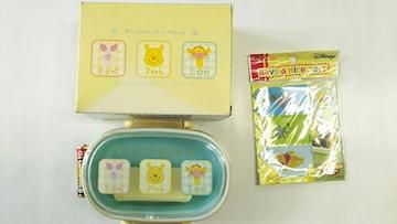 新品未使用くまのプーさんランチボックス(Lunch Box)&カットバラン