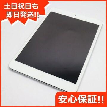 ●美品●au iPad mini Retina Cellular 16GB シルバー●