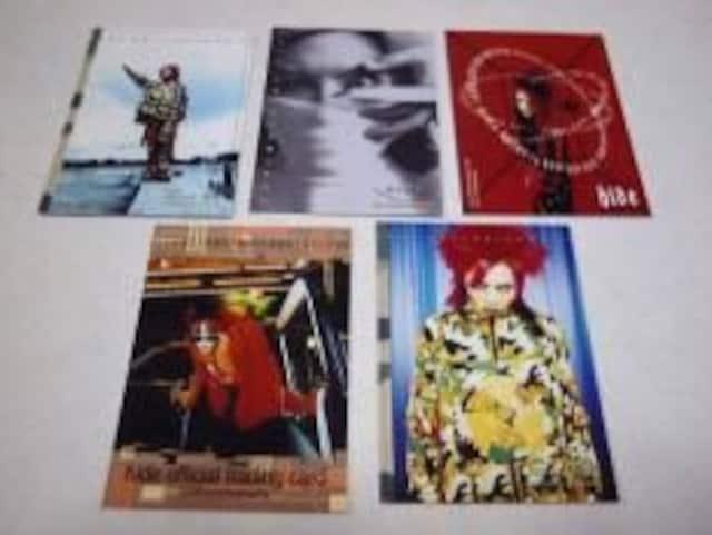 hide(X JAPAN)[トレカ5枚SET]  < タレントグッズの